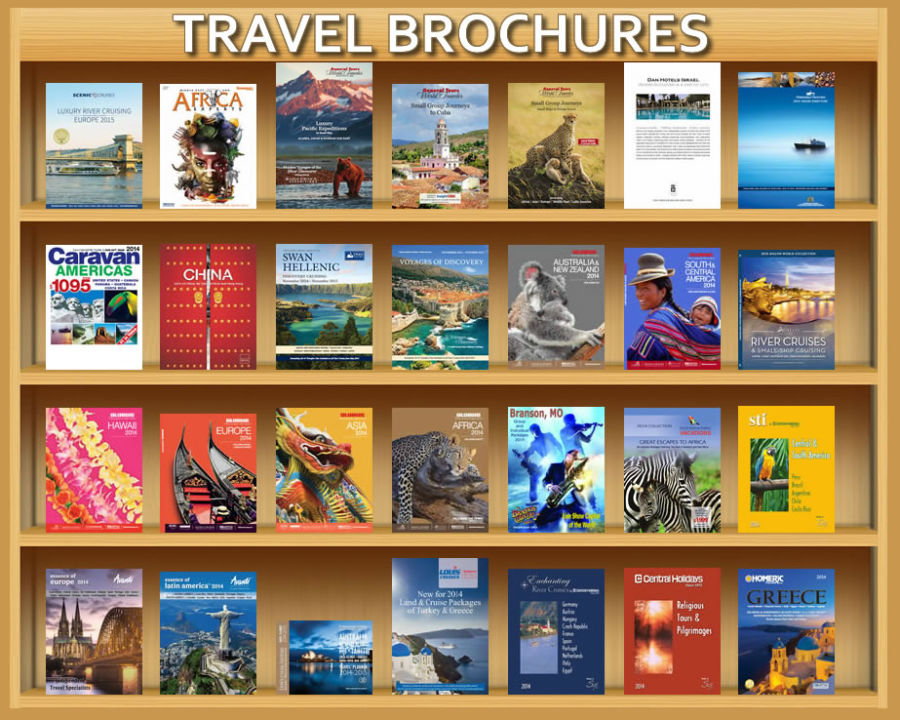 Enjoy over 100 Travel Brochures provided by East-West Global Travel
